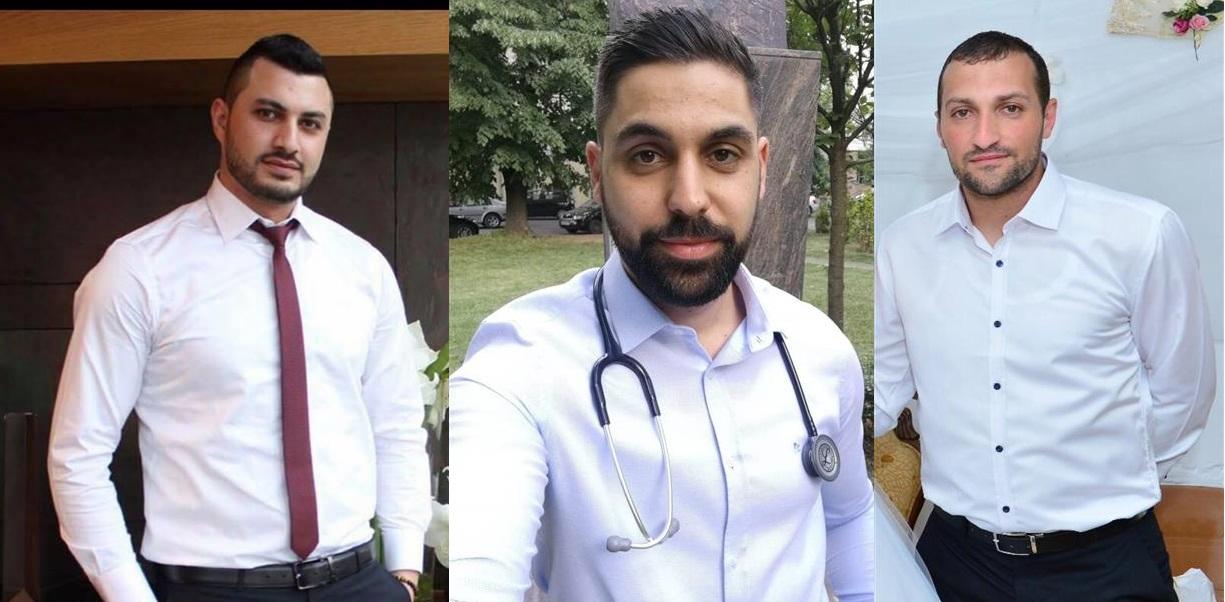زاهر صالح رئيس مجلس كوكب ابو الهيجاء المحلي يهنىء أطباء كوكب الذين نجحوا في اجتياز امتحان وزارة الصحة