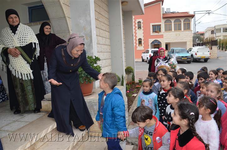 بيت المسن في كوكب يستضيف لقاء الأحفاد بالجدات في يوم الجدة