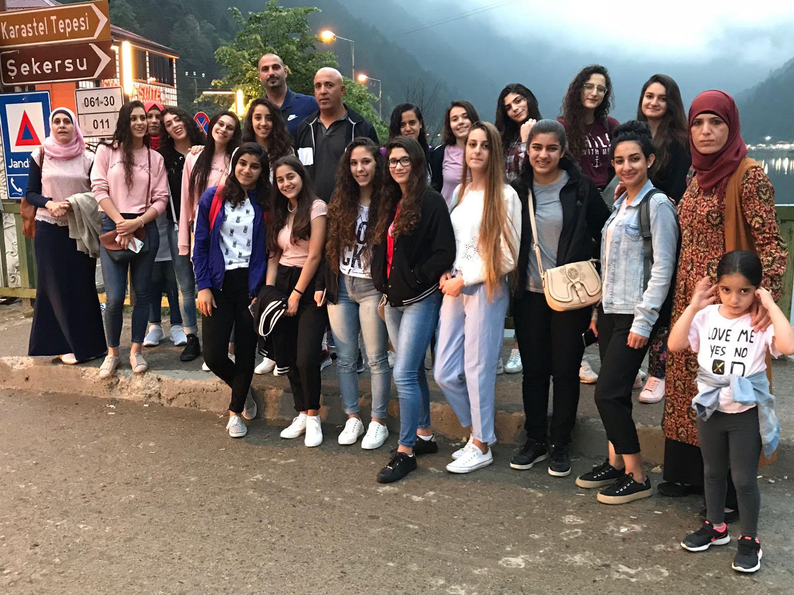 معسكر تدريبي يقام في مدينة طرابزون بالشمال التركي لفريق فتيات كوكب