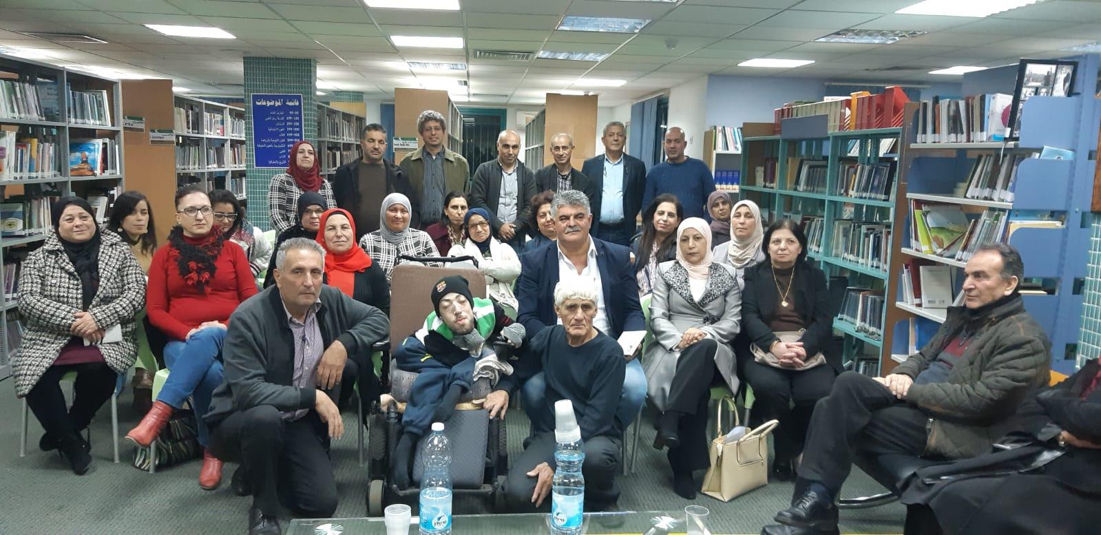 """أمسية مع """"رهين الجسد"""" للكاتب فادي أبو شقارة في المكتبة العامة كوكب ابو الهيجاء"""