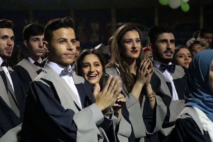 مدرسة كوكب ابو الهيجاء الثانوية تخرج فوجها الخامس من صفوف الثواني عشر