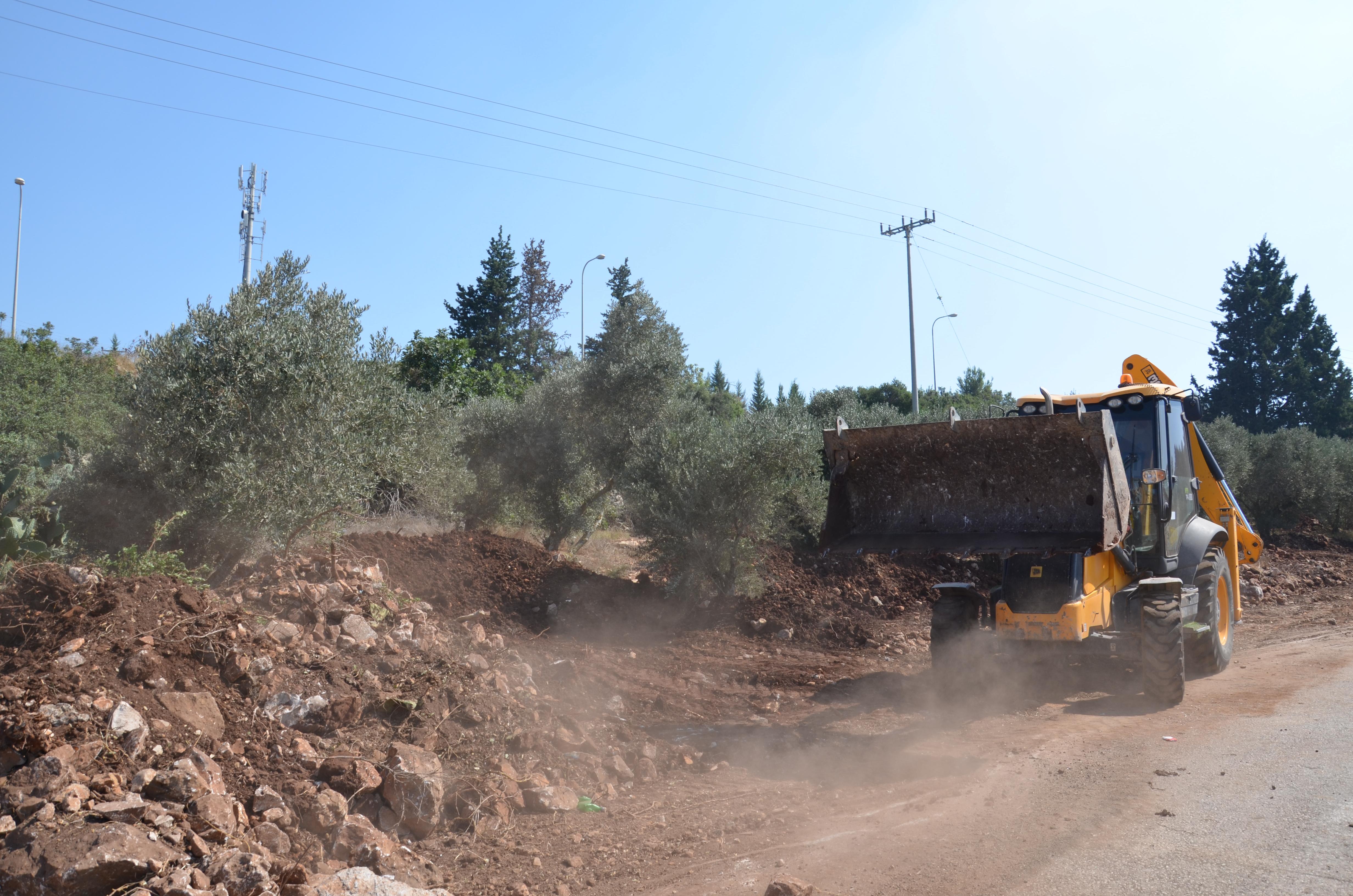مجلس كوكب ابو الهيجاء يبدأ بتنفيذ المرحلة الأولى من شارع المقامات